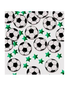 Confetti de mesa mixto balones de fútbol