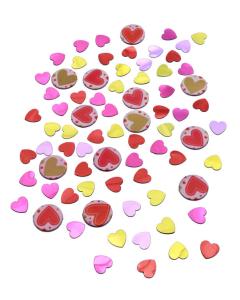 Confetti de Mesa Mixto Corazones Surtidos 15 g