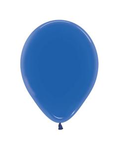 Globo de látex azul textura cristal, tamaño R-12