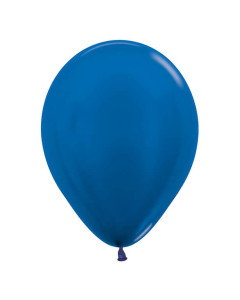 Globo de látex color azul