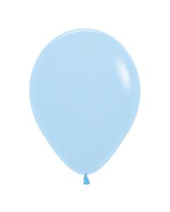 Globo Azul Pastel Mate R-12