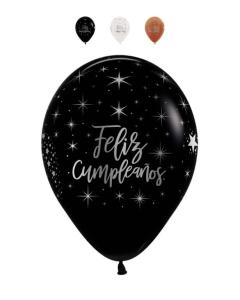 Globo Infinity Feliz Cumpleaños Radiante
