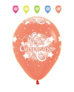 Globo infinity feliz cumpleaños