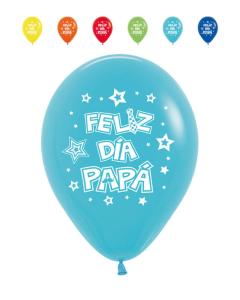Globo impreso feliz día papá