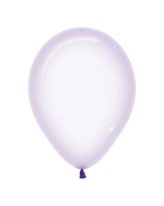 Globo Lila Cristal Pastel R-12