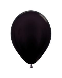 Globo Negro Metal R-12