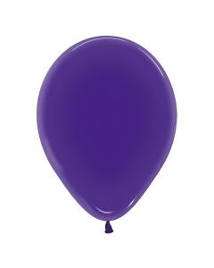 Globo Violeta Cristal R-12
