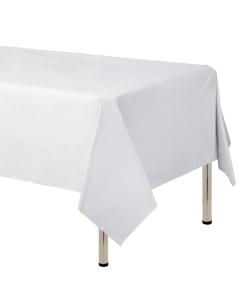 Mantel Blanco en Cambre de 250 cm x 160 cm