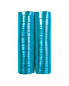 Serpentina azul celeste metal papel 4 metros por 2 rollos