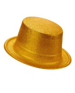 Sombrero Escarchado Dorado de Copa