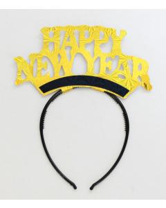 Tiara Happy New Year en Cartón