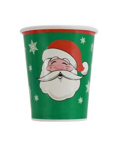 Vaso en cartón de Feliz Navidad de 9 onzas