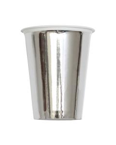 Vaso Plateado 7 oz Plástico