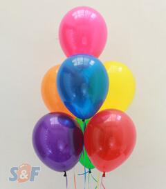 Globos cristal inflados con Helio Certificado