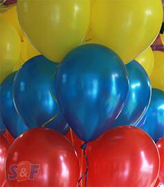 Globos chrome qualatex inflados con Helio Certificado